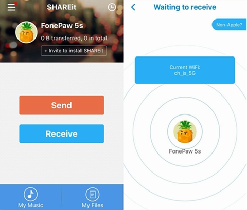 SHAREit for iPhone Download Free (iOS & iPad)