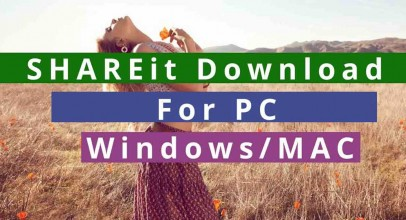 SHAREit For PC Download Free (Windows 7/8/8.1) & Mac